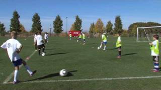 Soccer Training - Touch on the ball drills