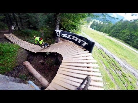 One Day In Bikepark Chatel On Black Tracks