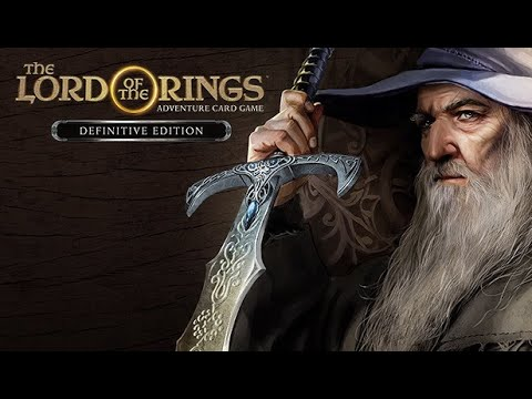 15 minute gameplay: The Lord of the Rings Adventure Card Game |