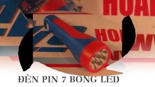 Đèn sạc pin cầm tay tiện dụng 7 bóng led