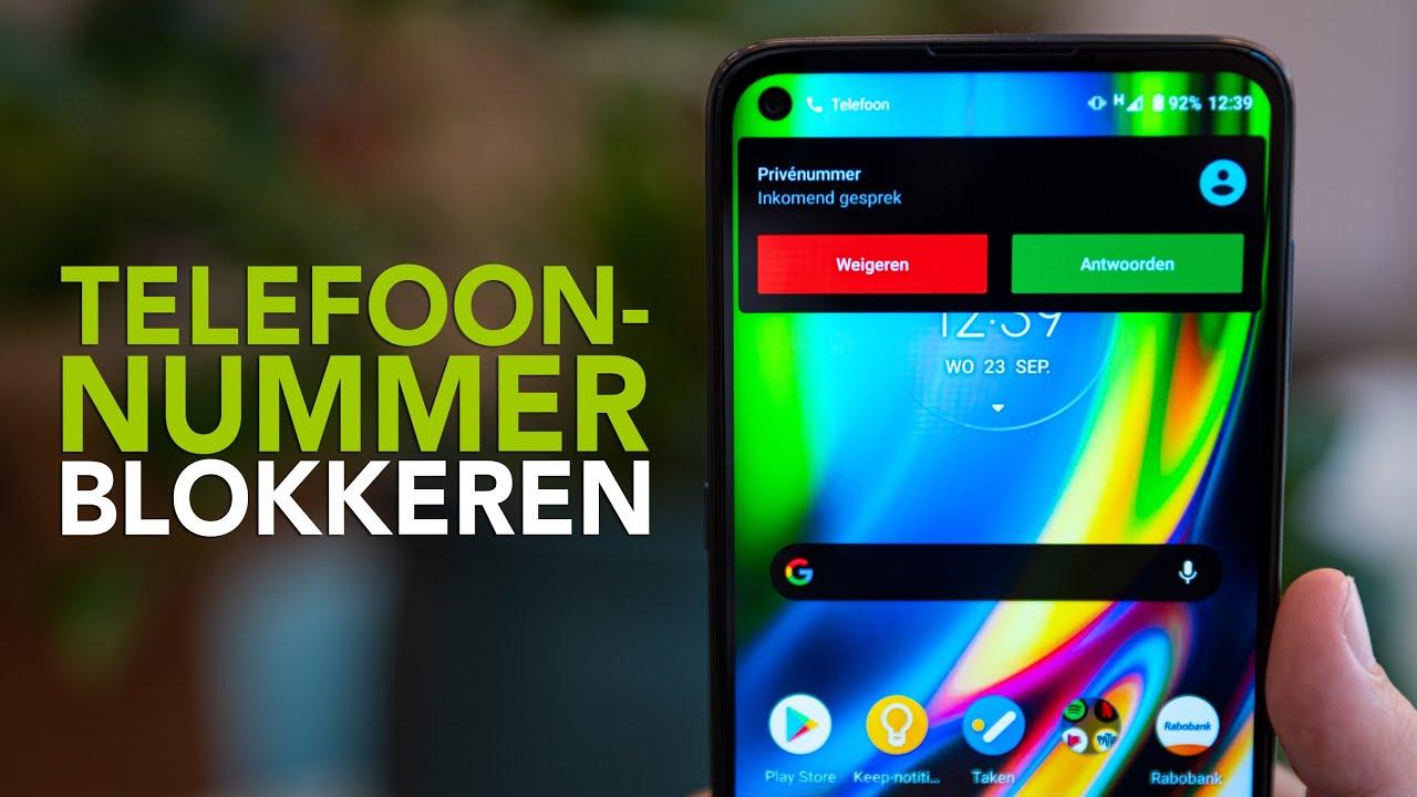 Een telefoonnummer blokkeren op je Android-telefoon: zo doe je dat