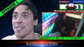 How to Party  on The Circusbus Party Bus Live Game Show!