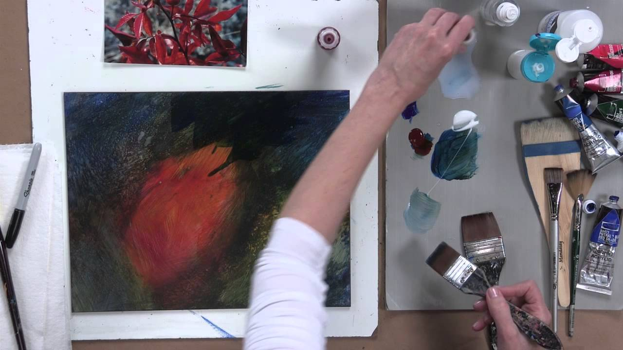 Watch How to Paint on Clayboard video