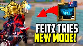 FEITZ TRIES NEW TRAVERSE INSECTOID GAMEMODE! | PUBG MOBILE