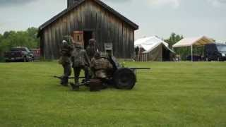 WW2 German Anti-Tank and Machine Gun Demo