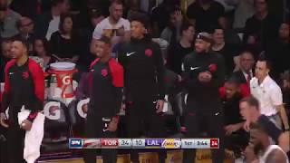 Serge Ibaka Career High Full Highlights Raptors vs Lakers 2018  34 Points, 9 Reb in 3 Qtrs!