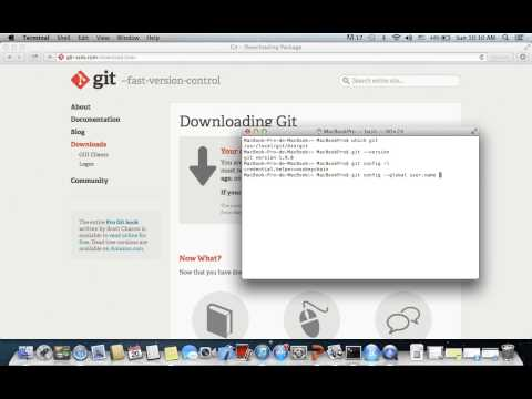 How to download and install Git on Mac