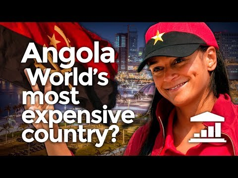 Why is ANGOLA the WORLD's most EXPENSIVE country? - VisualPo