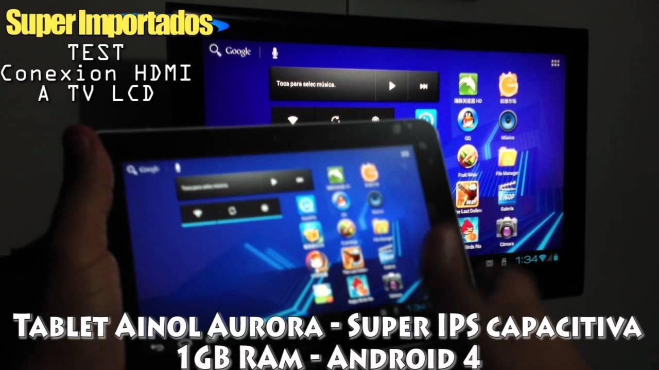 Tablet Ainol Novo AURORA Pantalla IPS capacitiva