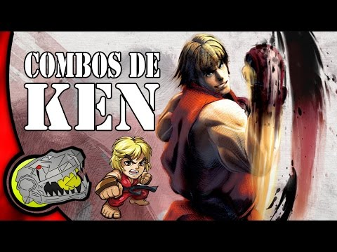 Todos los Combos de Ken - Ultra Street Fighter IV