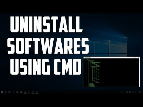 how-to-uninstall-any-programs/softwares-using-cmd