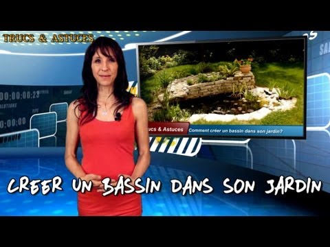 comment cr er un bassin dans son jardin how to create a pond in a garden youtube. Black Bedroom Furniture Sets. Home Design Ideas