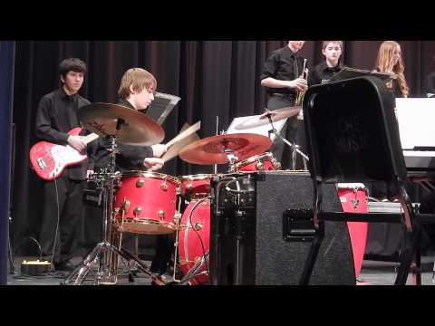Horizon Middle School Jazz Band Drum Solo