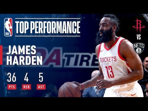 James Harden Scores His 15,000th Point, Puts Up Another 30-Point Game