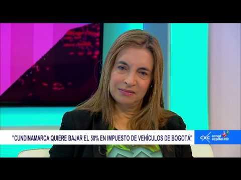 Entrevista Claudia Palacios-  Beatriz Arbeláez, Secretaria de Hacienda de Bogotá