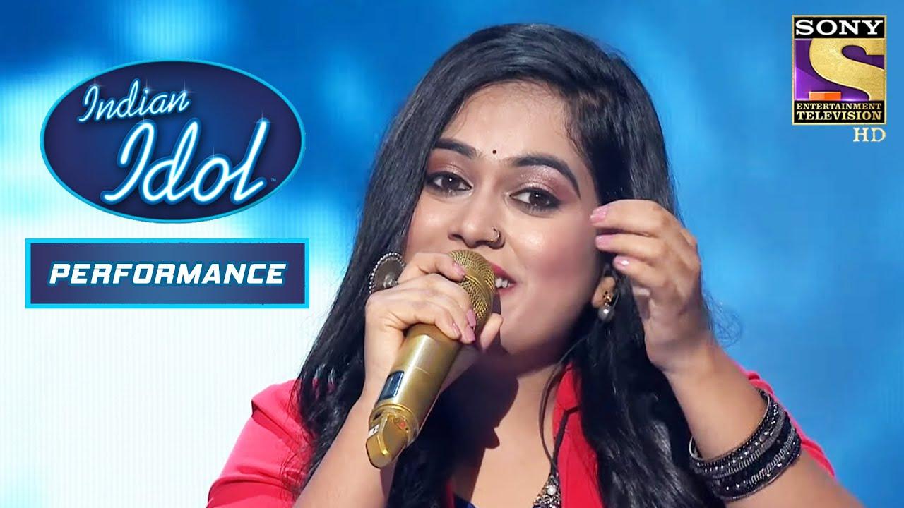 "Download Sayali ने अपनी Soulful आवाज़ में गाया ""Ab Ke Sajan Sawan Mein"" | Indian Idol Season 12"