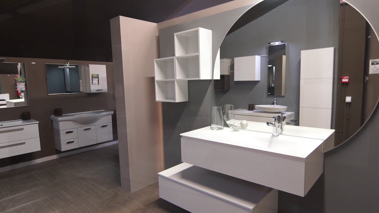 Showroom mobili bagno arredamenti meneghello youtube for Showroom mobili