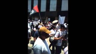 Marcha Anti EPN 3 (Calle Madero en el Centro)