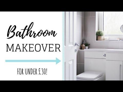 bathroom-makeover-on-a-budget-|-room-tour-maisy-meow