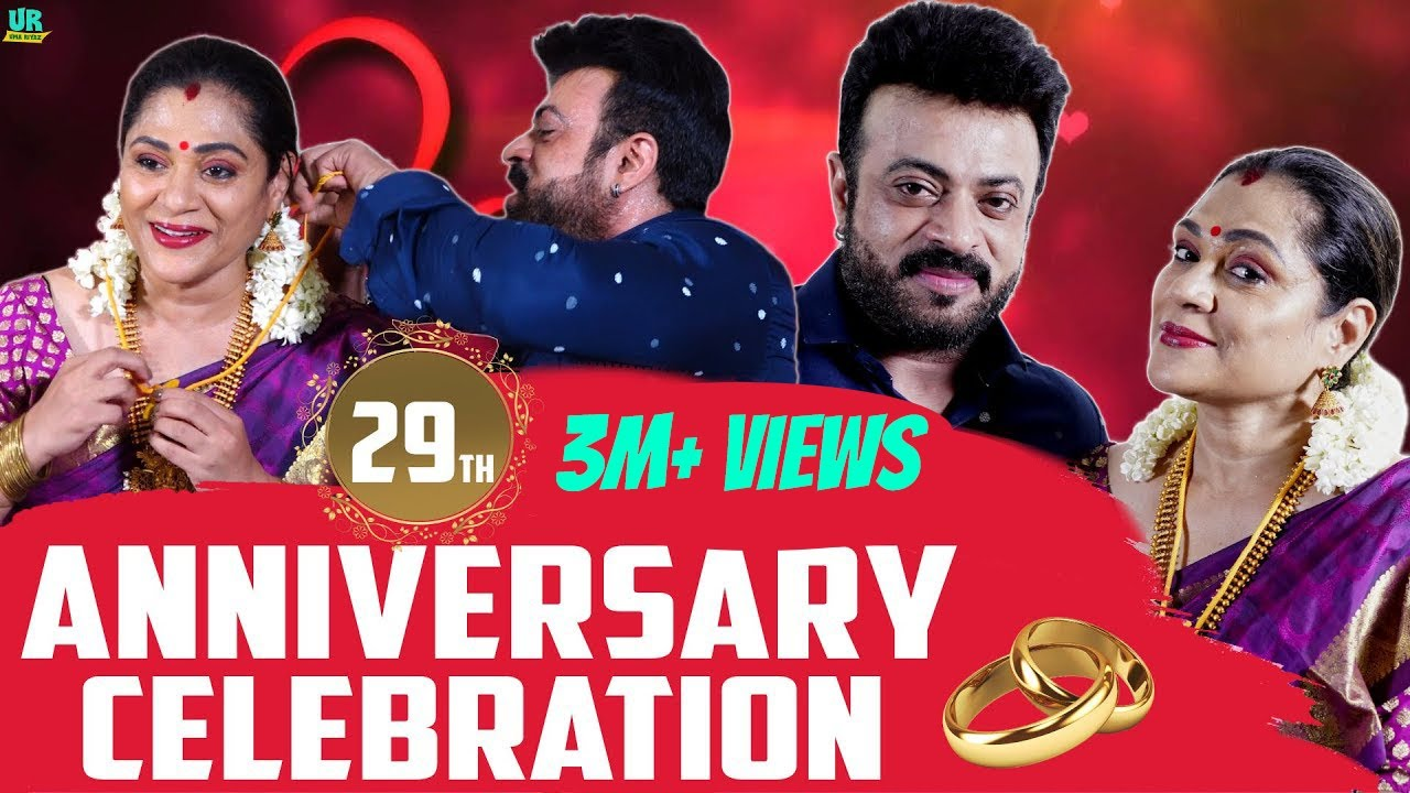 29th Wedding Anniversary Celebration ❤️😍   Riyaz khan & Uma Riyaz