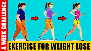 Exercise for weight lose : top 5 simple belly fat | fast