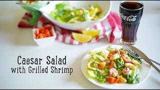 Caesar Salad With Grilled Shrimp [ba Recipes]