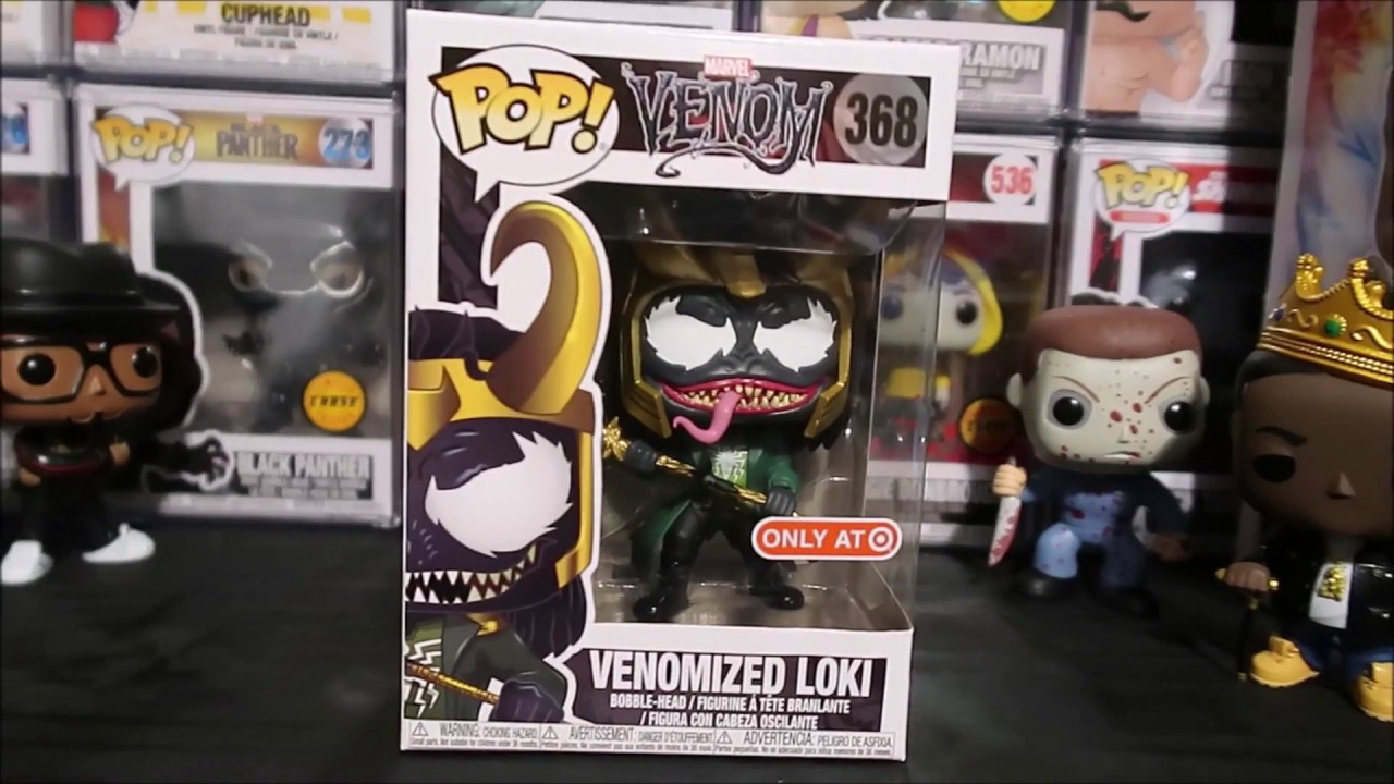 Marvel Venomized Loki Funko Pop Venom Target Exclusive Detailed Look