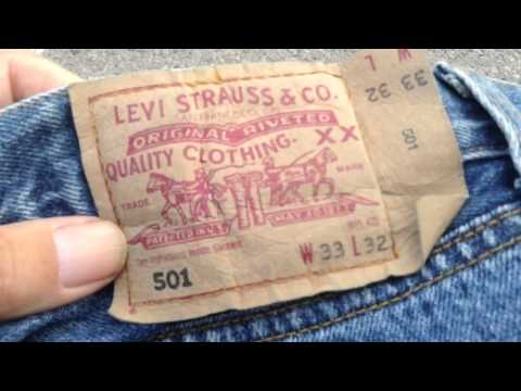 Levi's 501 - fake or real?