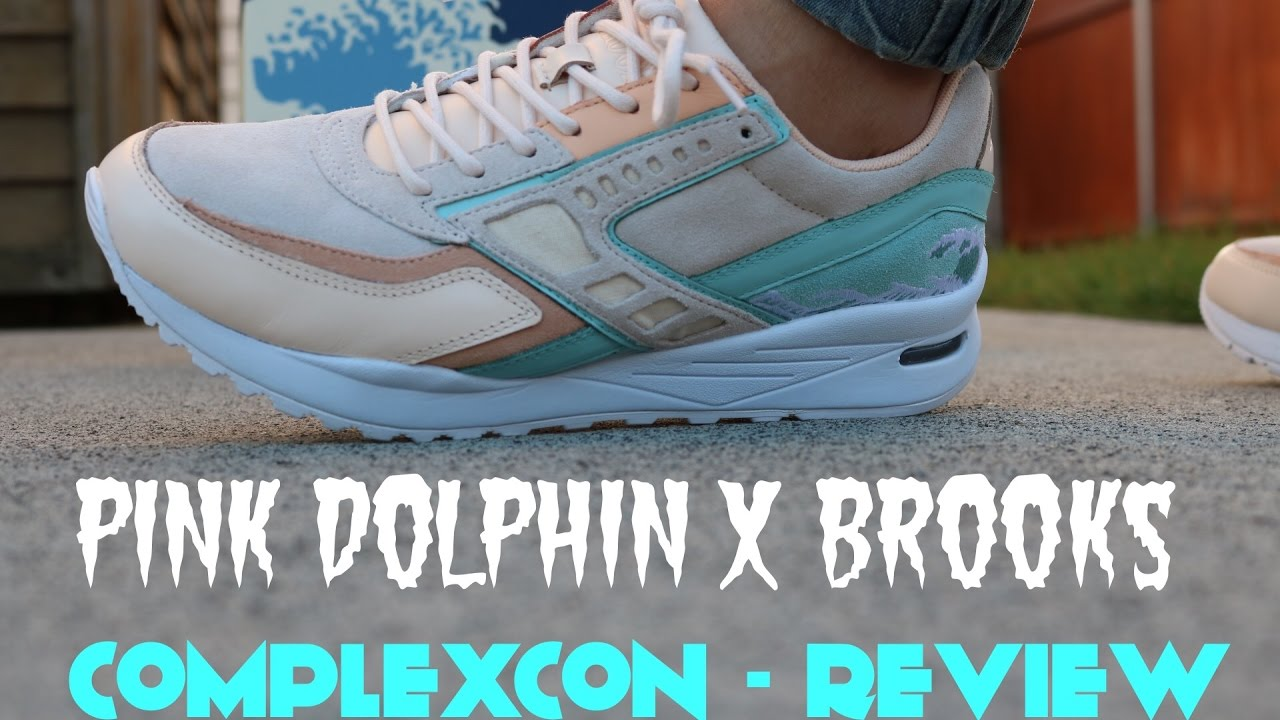 competitive price f99ff faf93 Pink Dolphin x Brooks
