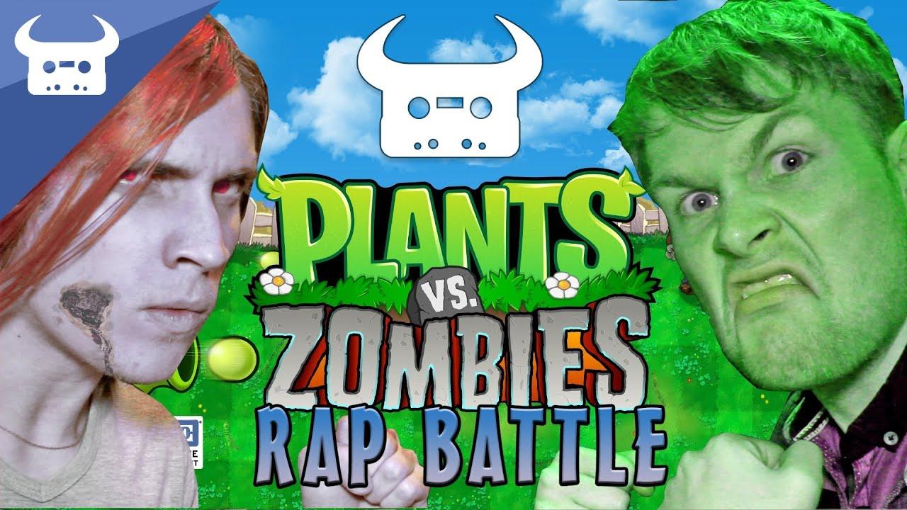 plants zombies rap battle bull boyinaband youtube
