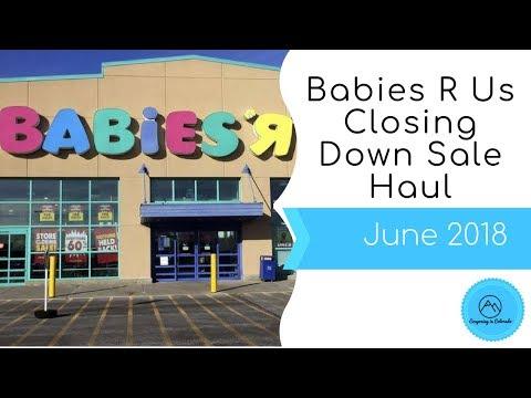 Babies R Us Closing Down Sale Haul - June 2018