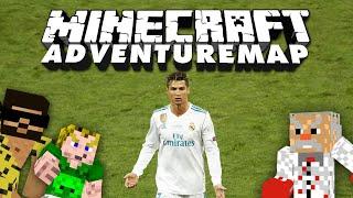 Ist Ronaldo gierig? 🎮 Adventure-Map Parkour Paradise 3 #21