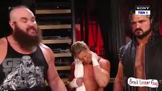 McIntyre, Dolph & Braun Need Dean Ambrose :WWE RAW : October 1. 2018