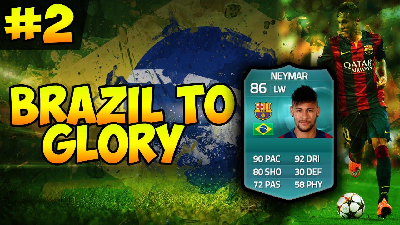 "NEYMAAAR"":BRAZIL TO GLORY: EP 2: FIFA 15 ULTIMATE TEAM - NEYMAAAR"":BRAZIL TO GLORY: EP 2: FIFA 15 ULTIMATE TEAM"