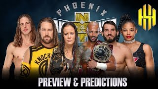 WWE NXT TAKEOVER PHOENIX FULL SHOW PREVIEW & PREDICTIONS