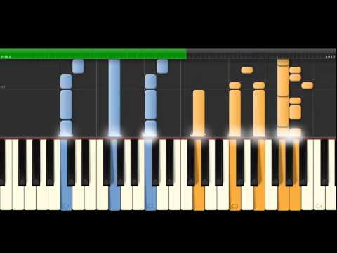 Lilo and Stitch theme on synthesia ( hemele no Lilo )