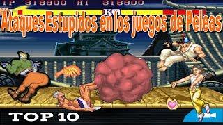 Top 10 Ataques Estupidos en los juegos de Peleas