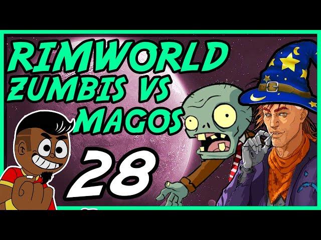 SELVAGEM MALDITO! #028 - Rimworld PT BR - Tonny Gamer