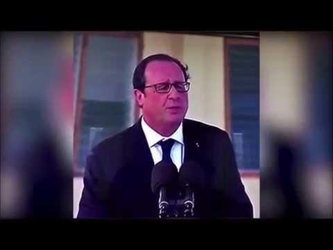François Hollande parle Anglais