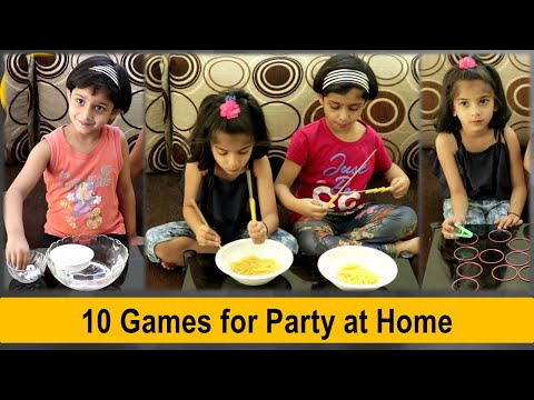 10 indoor games for kids at home | Fun games to play at home (2020)