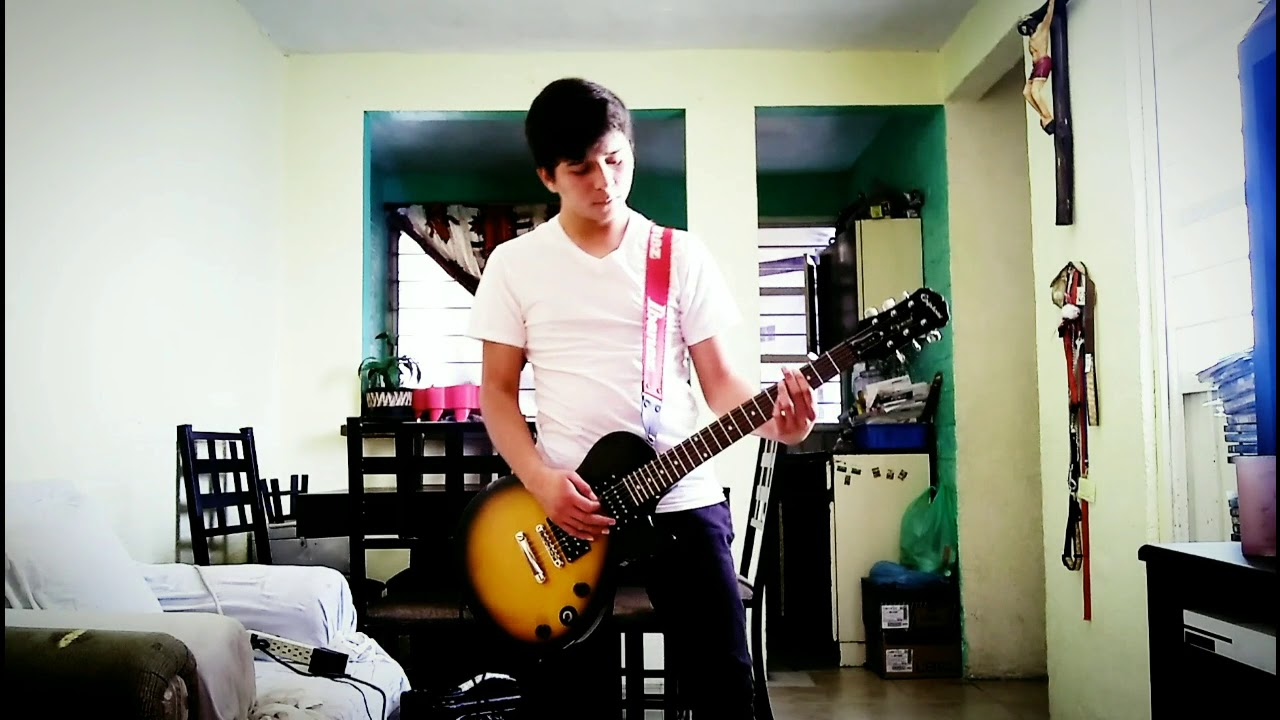Three Days Grace - Human Race - Guitar Cover w/Guitar Solo