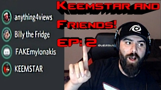 Keem talks about PewDiePie, Leafy, ShayCarl, H3H3 (anything4views, Andy Milonakis, Billy the Fridge