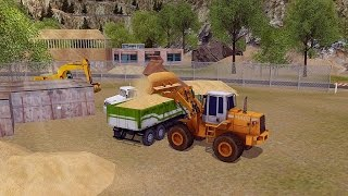 Loader & Dump Truck Simulator Android Gameplay [HD]