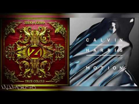 Zedd ft. Kesha vs. Calvin Harris ft. Ellie Goulding - Outside Colors (Mashup)