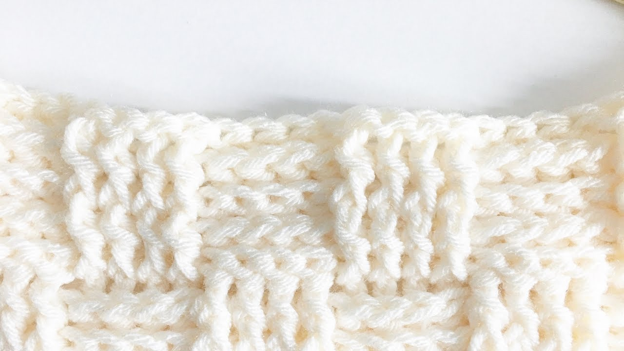 Crochet Basketweave Stitch - YouTube
