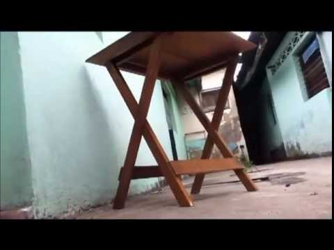 Mesa plegable servicio t cnico express youtube for Mesa plegable 3 cuerpos