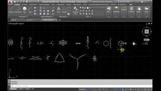 Электрические схемы в AutoCAD