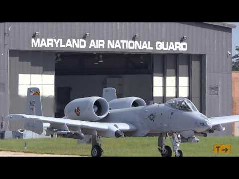 A-10 Warthogs Takeoff - [4K/UHD]