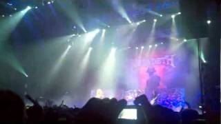 "Megadeth - ""Peace Sells / My Last Words / Holy Wars Reprise"" Live 2010"