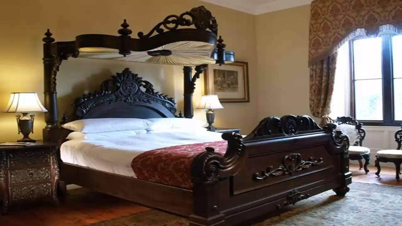 غرف نوم أنتيكة كالقطع الأثرية Funnycattv